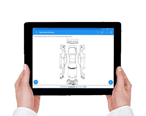 Aplicación para talleres mecánicos